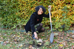 Commonwealth Tree Planting At Nuns Moor Park