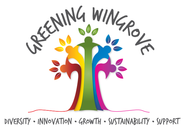 GW logo with strap