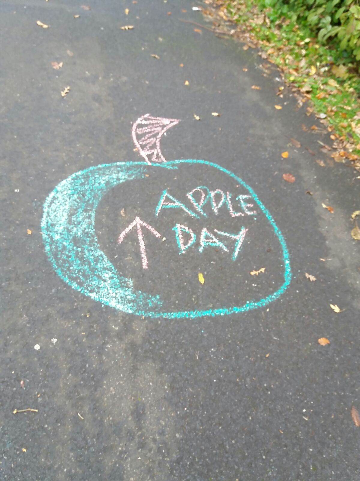 Bike Garden Apple Day