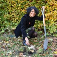 Chi Onwurah tree planting