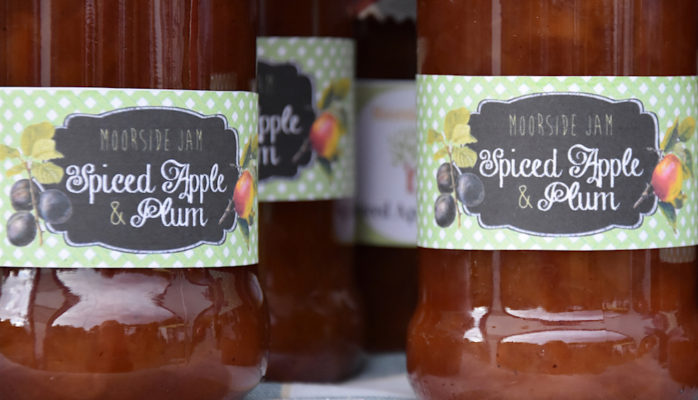 spiced apple and plum